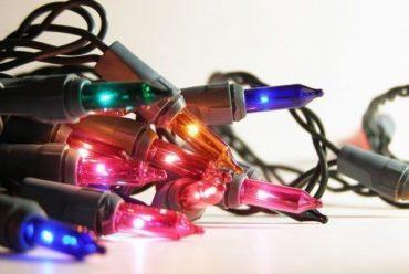 Origem das luzes de Natal